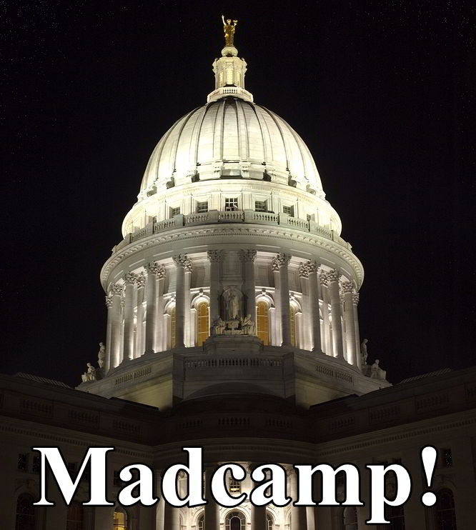 Madison Capitol Night Madcamp